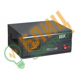 Стабилизатор напряжения СНР1-1- 1 кВА электронный стационарный IEK (1)