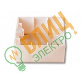 90969011 Коробка для наружного монтажа VI-KO (KARRE) крем