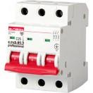 Автоматический выключатель e.mcb.pro.60.3.С1, 3р, 1A, С, 6kA