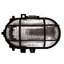 Светильник НПП 2604 черный/овал с решёткой пластиковой 60Вт IP54 IEK (24)
