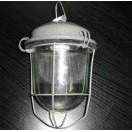 Светильник подвесной промышленный НСП 02х100-012 на крюк+решётка