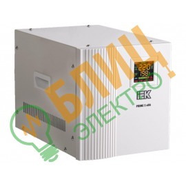 Стабилизатор напряжения Prime 1 кВА семисторный переносной IEK (1)